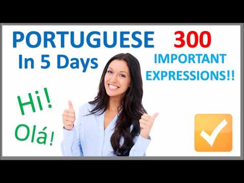 Learn Portuguese in 5 Days - Conversation for Beginners - YouTube