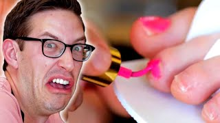 The Try Guys Give Pedicures To Each Other