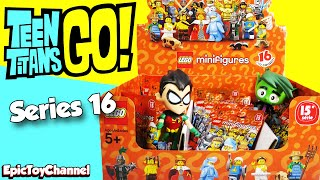 GIANT LEGO MINIFIGURES Series 16 Blind Bags with Teen Titans Go! Beast Boy & Robin + Lego Surprises