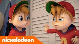 ALVINNNN!!! and the Chipmunks   Doppio Alvin   Nickelodeon Italia - dooclip.me