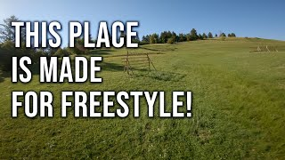 This place is made for freestyle!