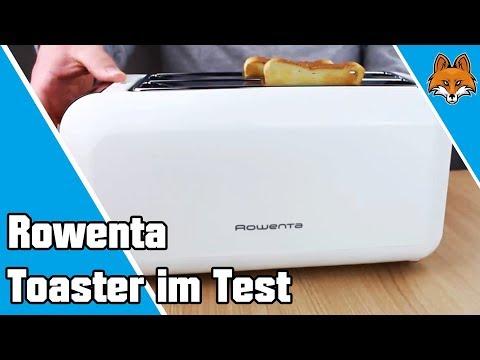 Rowenta Toaster im Test - Langschlitztoaster für 4 Scheiben 🍞
