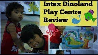 INTEX DINOLAND PLAY CENTER | KIDDIE POOL WITH SLIDE | GKN FLICKS | KIDS N TOYS EXPRESS
