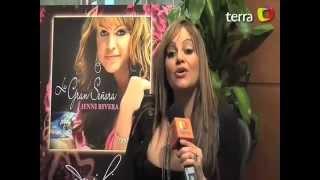 Jenni Rivera - Habla Sobre Su Disco La Gran Señora