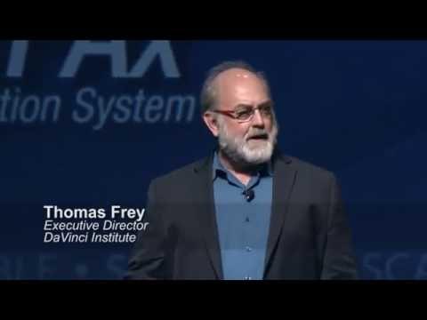 Sample video for Thomas Frey