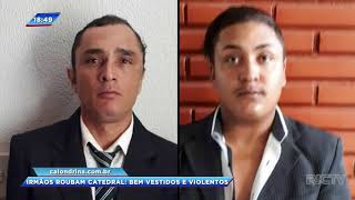 Bandidos assaltam catedral metropolitana de Londrina