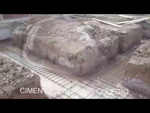 CIMENTACION COLUMNAS Y VIGAS DE CONEXION