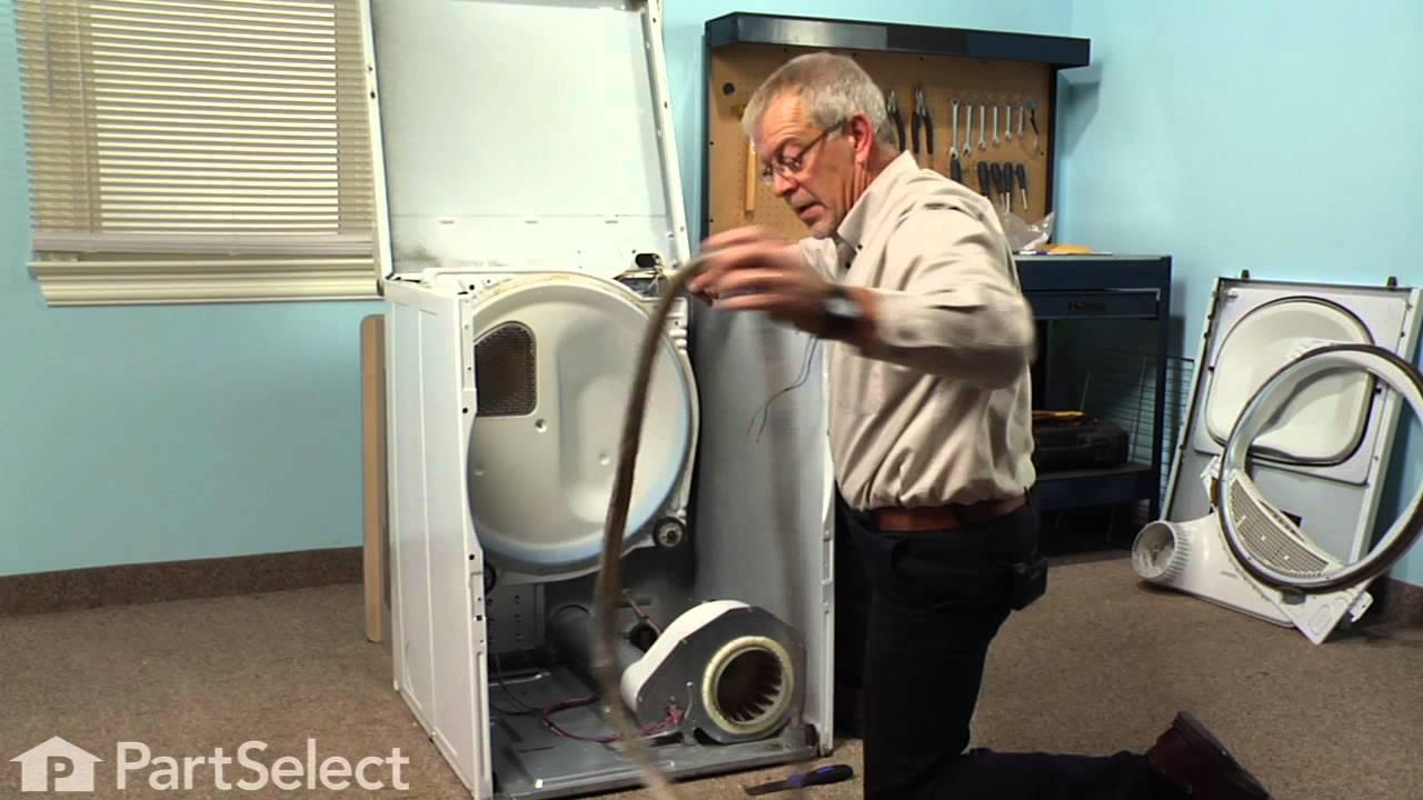 Replacing your Speed Queen Dryer Cylinder Felt Seal