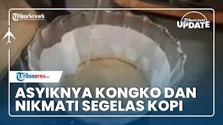 Serunya Kongko Sambil Minum Kopi di Kedai Pelayan Hati Kota Metro, Bisa Belajar Sajikan Sendiri