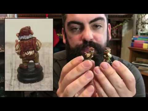 Painting your Labyrinth Figures with Johnny from Tabletop Troubadour Games