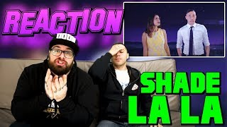 SHADE - LA LA FREESTYLE ft FEDERICA CARTA | RAP REACTION 2017 | ARCADE BOYZ