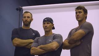 Brothers In Arms: Hitting The Gym With Dustin Johnson And Brooks Koepka