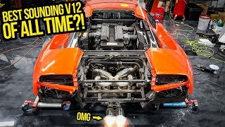 My TRASHED Fast & Furious Lamborghini Gets The BEST Sounding Exhaust In The World! (F1 SCREAM!)