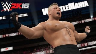 WWE 2K16 - WrestleMania Trailer