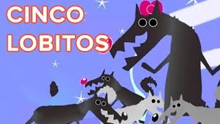 Cinco lobitos, canción infantil