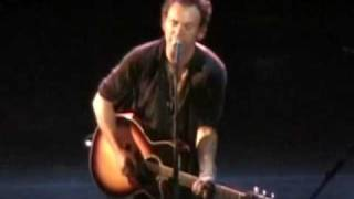 Bruce Springsteen - My Best Was Never Good Enough - Live 2005 (opening night) video