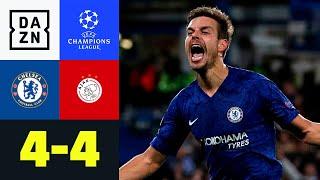 Wahnsinnsmatch an der Stamford Bridge: Chelsea - Ajax 4:4   UEFA Champions League   DAZN Highlights