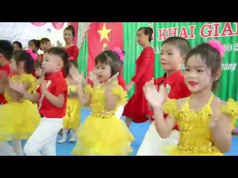 Văn nghệ khai giảng năm học mới 2019-2020 trường mầm non Đông Vinh