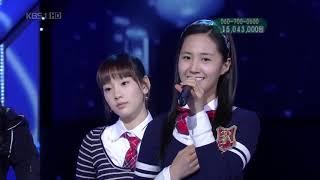Khoảnh khắc đáng yêu của sao Hàn khi quên lời bài hát