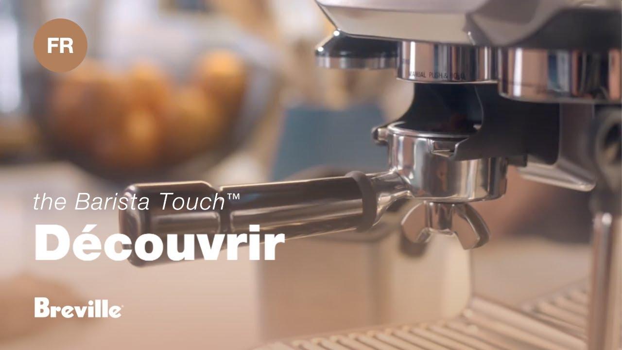 Barista Touch Café de Bistro à Portée de Main