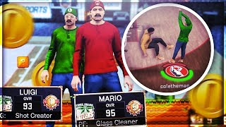 MARIO & LUIGI MOD ON 2K17 🍄 WINNING MILLIONS OF VC AT THE STAGE! SUPER MARIO BROS CANT MISS 🔥