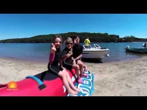 vidéo aérienne du camping