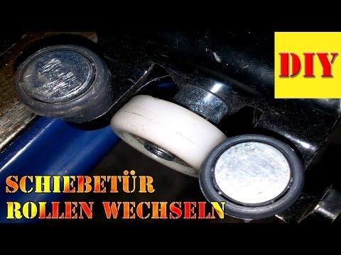 ⏩ Auto Schiebetür schwergängig/klemmt  -  Laufrolle auswechseln/Sliding Door change Doblo