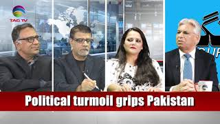 Burka distribution and political turmoil in Pakistan - GUFTAGU with Barrister Usman Ali @TAGTV