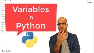 #4 Python Tutorial for Beginners | Variables in Python