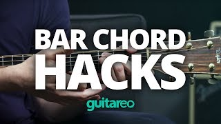 Bar Chord Hacks - Beginner Guitar Lesson