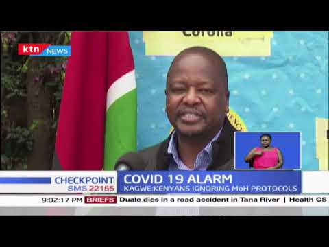Kagwe announces the second wave of covid 19 infections as country registers 685 new cases in 24hrs