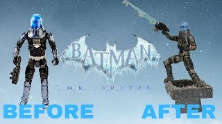 Batman Missions: Mr. Freeze Makeover- Chris' Custom Collectables!