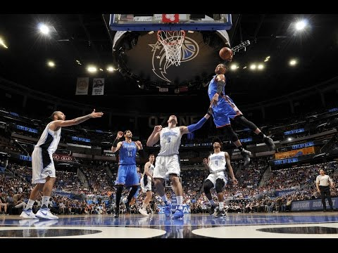 Russell Westbrook 57 POINT TRIPLE DOUBLE In Orlando! | March 29, 2017