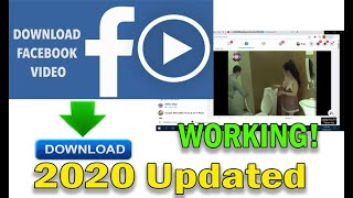How To Download  From Facebook  No Software Needed