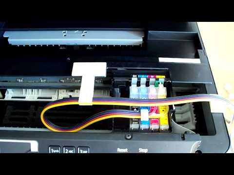 CISS Installation Epson WF-2660DWF WF-2650DWF
