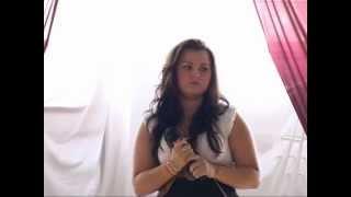 preview picture of video 'Ha én rózsa volnék  Kocsis Vivien előadásában -  Gégény, 2012'