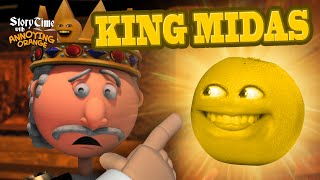 Annoying Orange Storytime: King Midas and the Golden Touch!