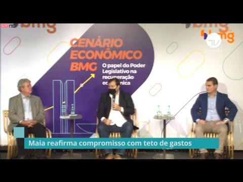 Maia reafirma compromisso com teto de gastos – 15/10/20