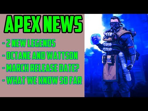 New Apex Legends Characters in March - Here's What We Know