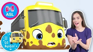 Stuck In The Mud  | Sign Language For Kids | Baby Songs | Little Baby Bum | ASL
