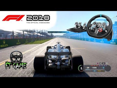 F1 2018 Game - Wheel Settings & Halo Settings - смотреть
