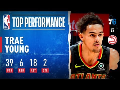 Trae Young Records CAREER-HIGH 18 Dimes