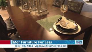 Tables For Holiday Entertaining - Mor Furniture For Less On The Approved Home Pro Show