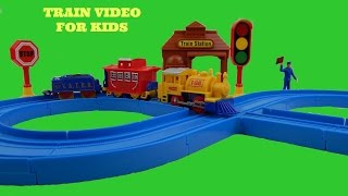 DOWN BY THE STATION TRAIN FOR KIDS