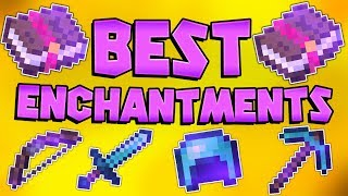 The Best Enchantment Combinations For ALL GEAR (PVE & PVP)  Minecraft Bedrock Edition MCPE MCBE