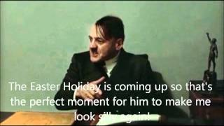 Hitler is informed FinalFantasyHQ was taking a break