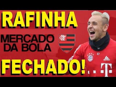 FLAMENGO FECHA COM RAFINHA E TENTA VINDA ANTES DA HORA! MERCADO DA BOLA LATERAL DIREITA FECHADA!