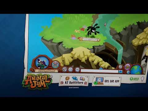 Animal jam den show art gallery and sky kingdom how I decorated it
