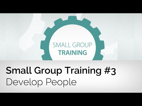 Developing People in Small Groups