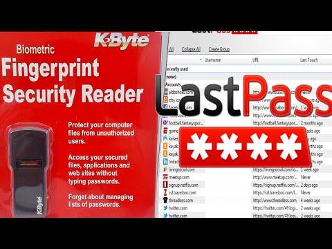 K-Byte $12 fingerprint scanner review (with lastpass setup)
